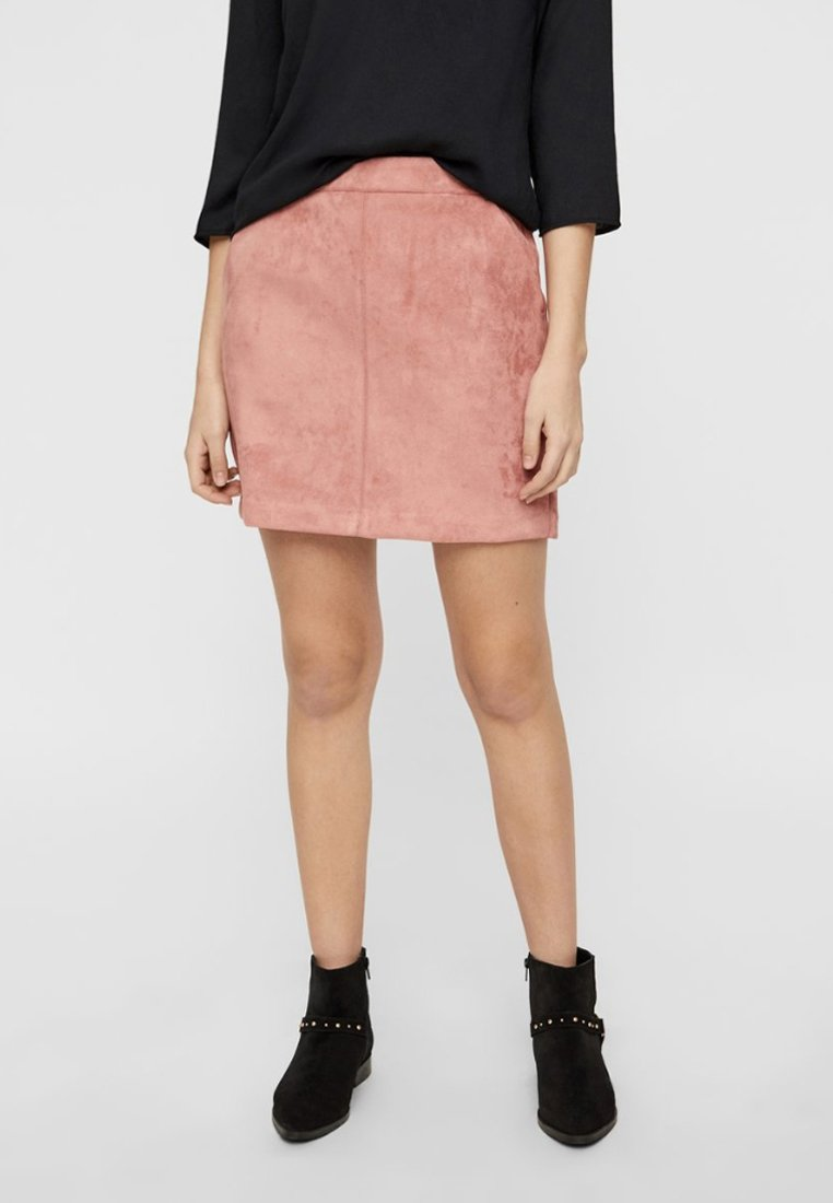Vero Moda - VMDONNA DINA - Mini skirt - old rose