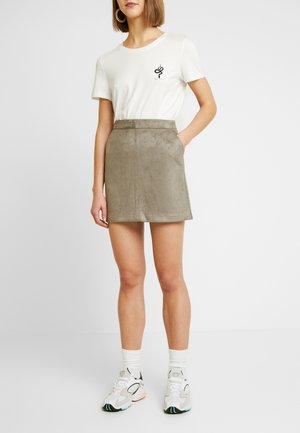 Mini skirts  - khaki