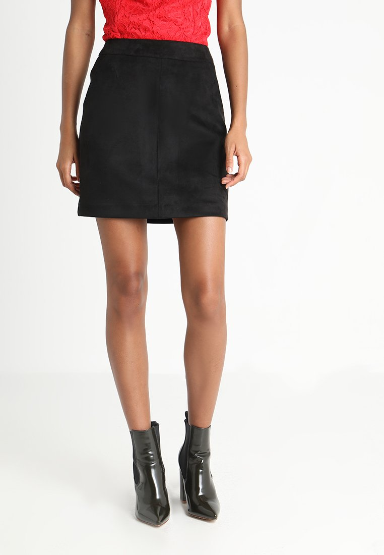 Vero Moda - VMDONNA DINA - Mini skirt - black