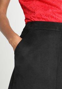 Vero Moda - Spódnica mini - black - 3