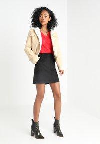 Vero Moda - Mini skirt - black - 1