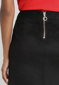 Vero Moda - Mini skirt - black - 5