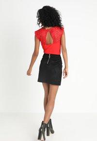 Vero Moda - Spódnica mini - black - 2
