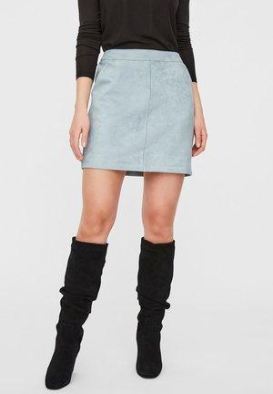 KURZER - A-line skirt - slate