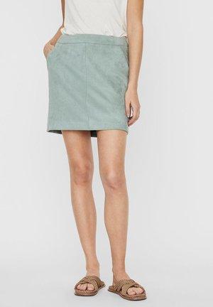 A-snit nederdel/ A-formede nederdele - green milieu
