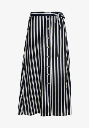 VMSASHA ANCLE SKIRT NOOS - A-Linien-Rock - navy blazer/snow white coco