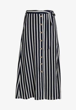 VMSASHA ANCLE SKIRT NOOS - Jupe trapèze - navy blazer/snow white coco