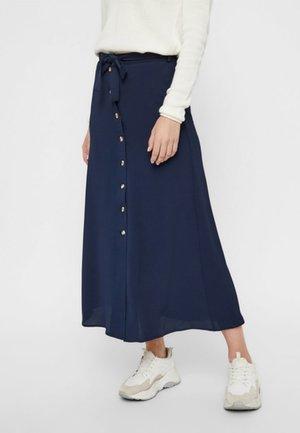 VMSASHA ANCLE SKIRT NOOS - A-snit nederdel/ A-formede nederdele - dark blue