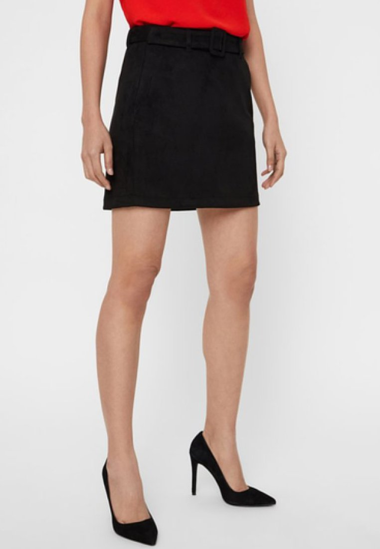 Vero Moda - Mini skirt - black