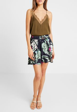 VMSIMPLY EASY SKATER SKIRT - A-line skirt - night sky