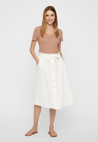 Vero Moda - A-line skirt - snow white - 1