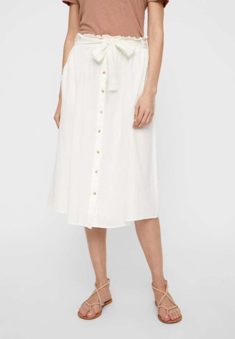 Vero Moda - A-line skirt - snow white