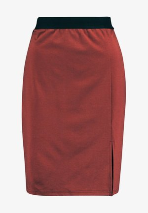 VMARIANA SKIRT - Gonna a tubino - mahogany