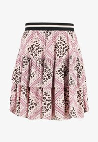 Vero Moda - VMAMSTERDAM LAYER SHORT SKIRT - Pliceret nederdel /Nederdele med folder - misty rose - 3