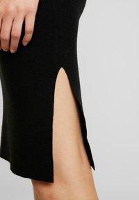 Vero Moda - VMNANCY PENCIL SLIT SKIRT - Pencil skirt - black - 4
