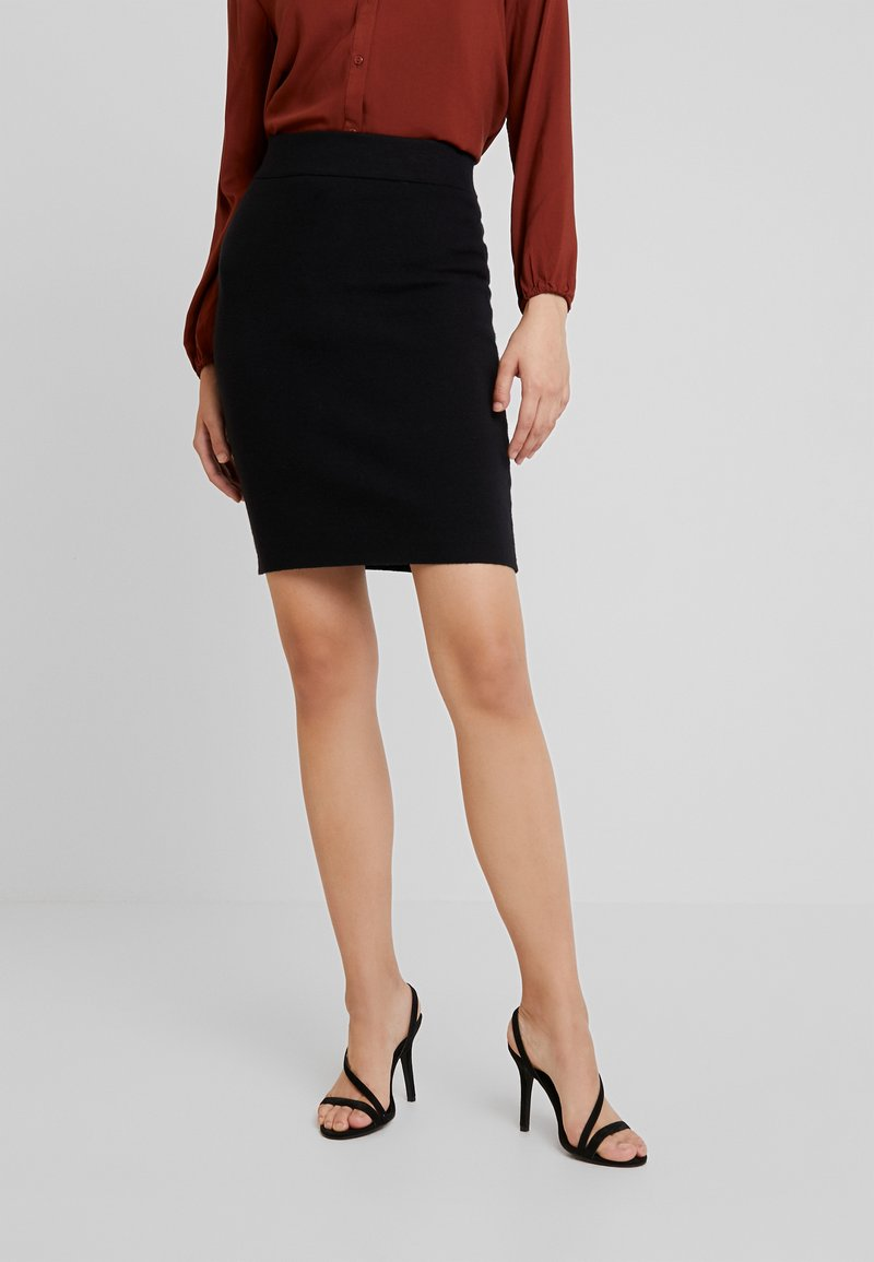 Vero Moda - VMFRESNO PENCIL SKIRT - Bleistiftrock - black