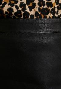 Vero Moda - VMINA SHORT SKIRT - Áčková sukně - black - 5