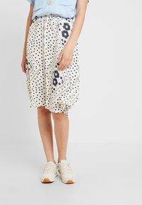 Vero Moda - VMNICE SKIRT - A-line skirt - birch - 0