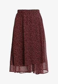Vero Moda - VMROBERTA SKIRT - A-line skirt - port royale/brick dust roberta - 4