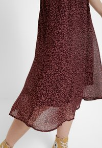 Vero Moda - VMROBERTA SKIRT - A-line skirt - port royale/brick dust roberta - 3