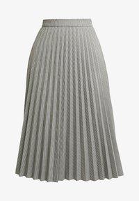 Vero Moda - VMELEANOR CALF SKIRT - Plisovaná sukně - coffee bean - 3