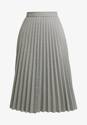 VMELEANOR CALF SKIRT - Plisovaná sukně - coffee bean
