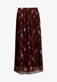 Vero Moda - VMFALLIE PLEATED SKIRT - Plisovaná sukně - port royale - 3