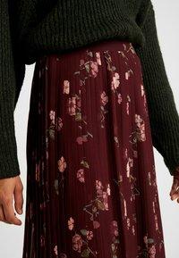 Vero Moda - VMFALLIE PLEATED SKIRT - Plisovaná sukně - port royale - 4