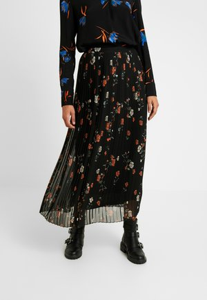 VMFALLIE PLEATED SKIRT - Pleated skirt - black