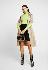 Vero Moda - VMLENA SHORT SKIRT - A-line skirt - black - 1