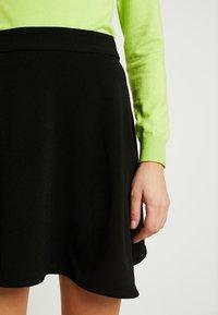Vero Moda - VMLENA SHORT SKIRT - A-line skirt - black - 4