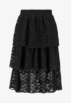 VMBETH LAYER SKIRT - Jupe trapèze - black