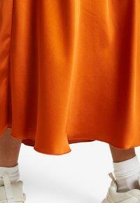 Vero Moda - VMCHRISTAS  - Plisovaná sukně - cinnamon stick - 4