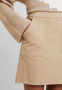 Vero Moda - FELICITY - Mini skirt - silver mink - 4