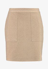 Vero Moda - FELICITY - Mini skirt - silver mink - 3