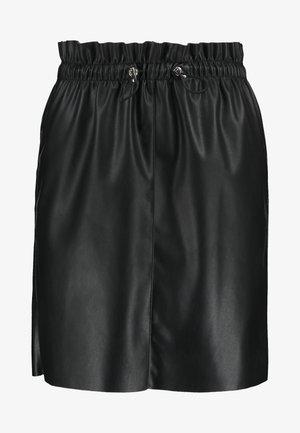 VMAWARDSIF SHORT COATED SKIRT - Minijupe - black