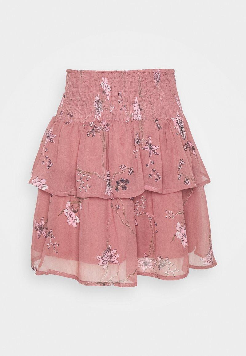 Vero Moda - A-snit nederdel/ A-formede nederdele - rose brown/zofia