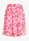 VMIRIS KNEE SKIRT - A-line skirt - rosebloom/iris