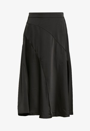 VMGABBI CALF SKIRT - A-line skirt - black