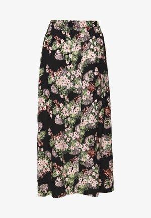 VMSIMPLY EASY MAXI SKIRT - Falda larga - black