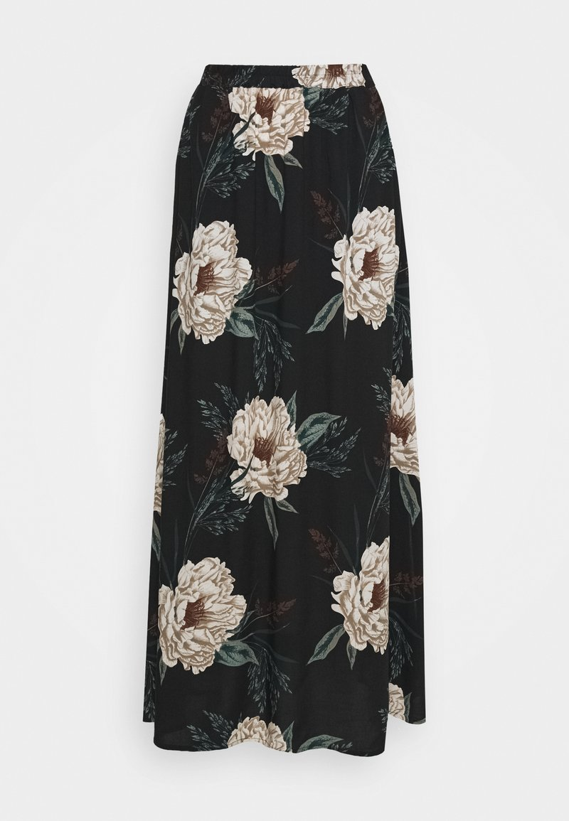 Vero Moda - VMSIMPLY EASY SKIRT - Gonna lunga - black