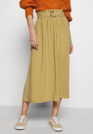 VMCOC SKIRT - A-line skirt - khaki