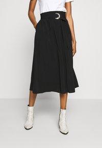 Vero Moda - VMCOC SKIRT - Áčková sukně - black - 0