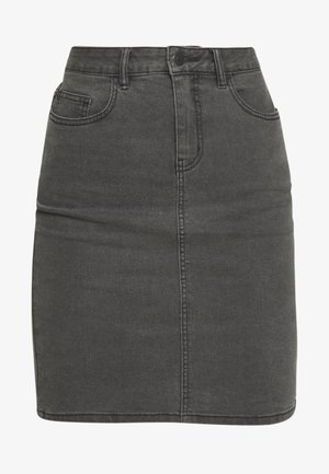 VMHOT NINE  - Jupe crayon - medium grey denim