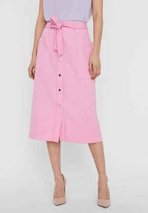 VMKAISA BELT  - A-line skirt - rosebloom