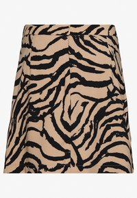 Vero Moda - VMKOURTNEY SKIRT - Mini skirt - beige - 1