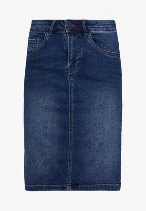 VMSEVEN MR PENCIL SKIRT MIX - Jupe crayon - medium blue denim