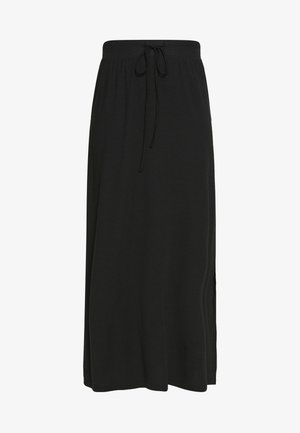 VMAVA ANCLE SKIRT  - Maxi sukně - black