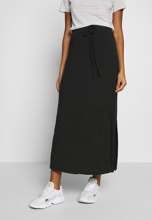 VMAVA ANCLE SKIRT  - Maxi skirt - black