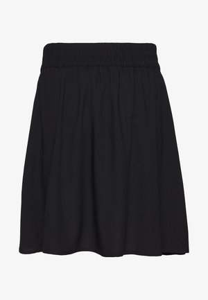 VMSIMPLY EASY SKATER SKIRT - Falda acampanada - black
